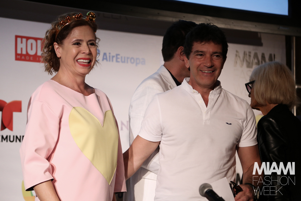 Antonio Banderas en la Miami Fashion Week