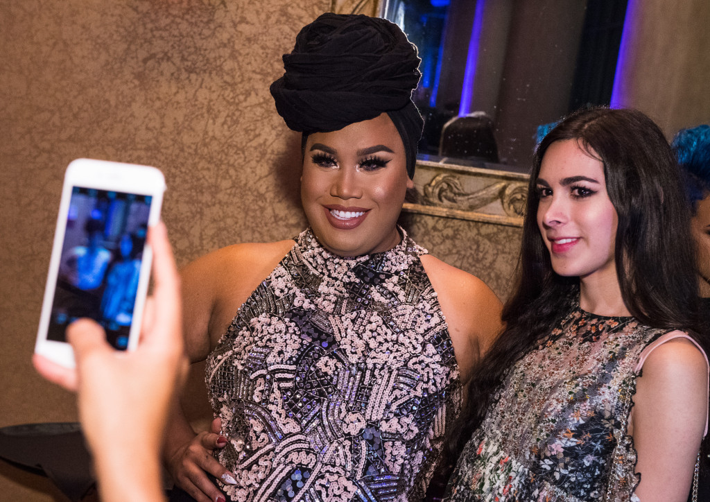 CORPUS CHRISTI, TX - SEPTEMBER 29: Patrick Starrr during the Media Welcome for the MAC Selena World Premier on September 29, 2016 in Corpus Christi, Texas. (Photo by Jordan Murph/Getty Images for MAC Cosmetics )