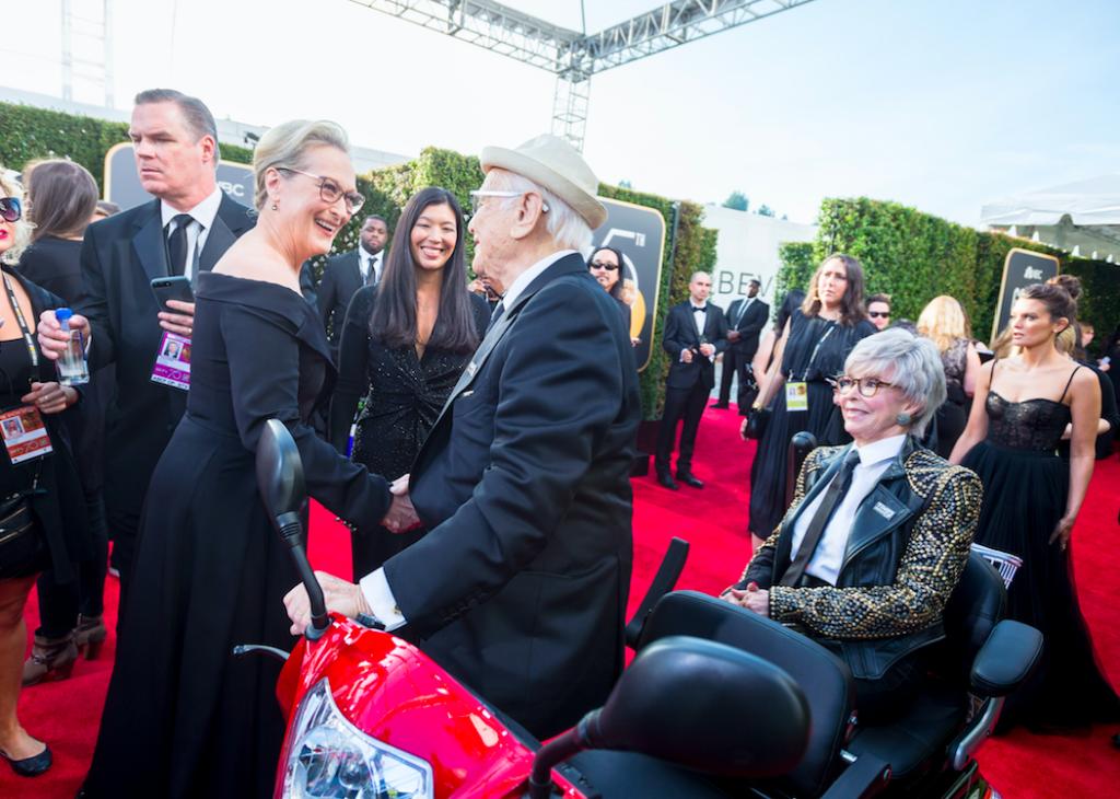 Meryl Streep & Rita Moreno