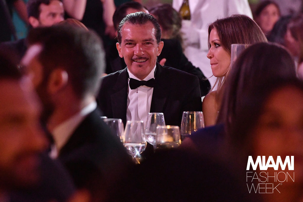 Antonio Banderas Gala Miami Fashion Week