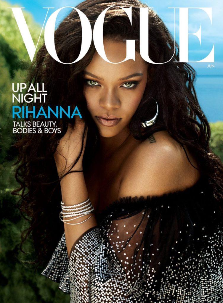Rihanna revista Vogue junio 2018