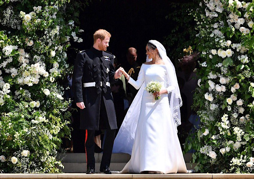 Novia Meghan Markle duquesa de Sussex FOTO GIVENCHY
