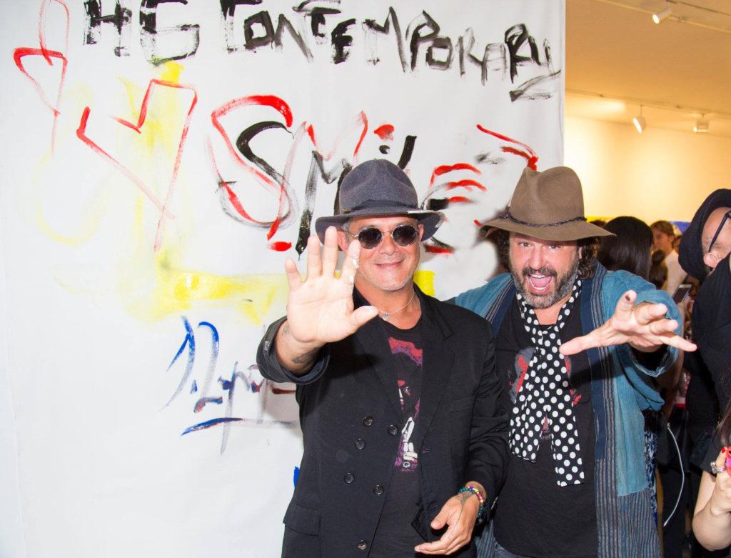Domingo Zapata y Alejandro Sanz en Nueva York