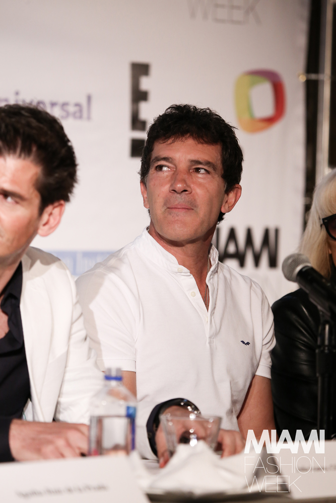 Antonio Banderas Miami Fashion Week