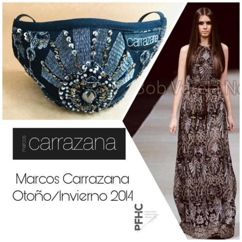 Carrazana Mask / Montaje Kev Antos